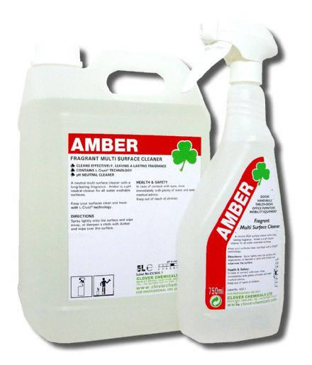 Clover Amber - Multi Surface Cleaning Chemical